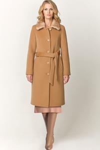 Зимнее пальто с мехом норки арт.403